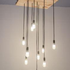zwisające kable - Szukaj w Google Indoor, Ceiling Lights, Living Room, Lighting, Decoration, Board, Google, Interior, Ideas