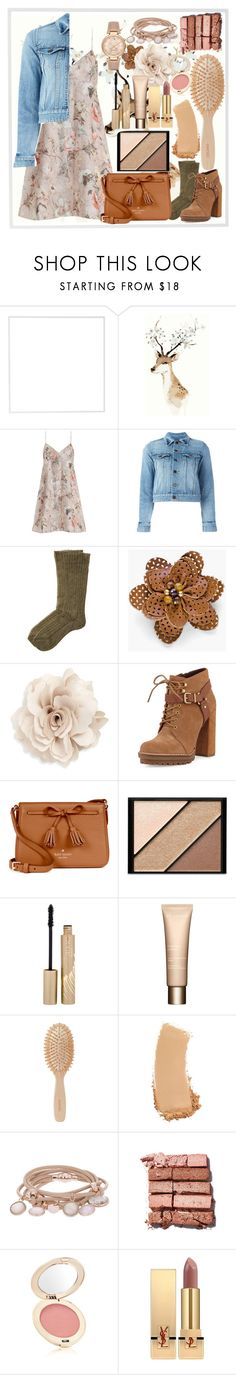 """""""Autumn Came Earlier This Year #1, Floral Pattern"""" by msmariesales ❤ liked on Polyvore featuring Menu, Zimmermann, Yves Saint Laurent, Etro, Chico's, Cara, BCBGeneration, Kate Spade, Elizabeth Arden and Stila"""