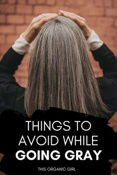 Taking a look back over the past 3 years and sharing some of the pitfalls that trip people up when going gray. Here's what NOT to do during your growout. #goinggraygracefully #saltandpepperhair #grayhairgrowout Blonde Hair Going Grey, Brown Hair Going Grey, Grey Hair Turning Yellow, Grey Blonde, Short Grey Hair, Dark Blonde Hair, Going Gray, Dying Hair Grey, Gray Hair Growing Out