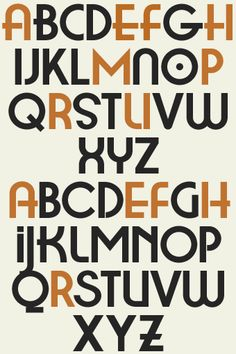 Letterhead Fonts / LHF Metro 39 / Art Deco Fonts