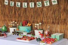 Dinosaurs Birthday Party Ideas | Photo 11 of 13