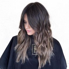 Long Choppy Wavy Hairstyle