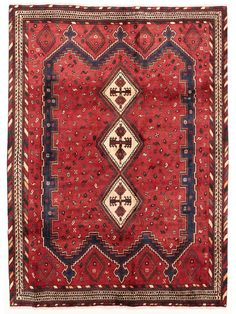 Tapis persans - Afshar  Dimensions:250x183cm