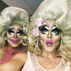 Trixie Mattel and friend