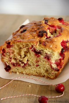 Cranberry Orange Bread and Bing's Food and Drink App » Eat. Drink. Love.