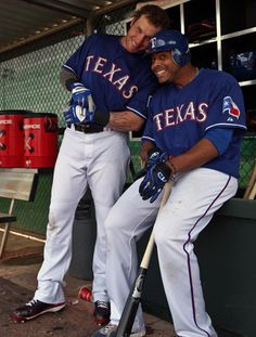 Josh Hamilton and Nelson Cruz
