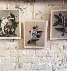 Collages by James Gallagher available in our furniture shop.