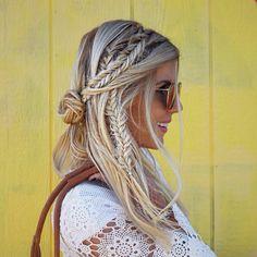 boho chic braids - Hair Pop | Hair Extensions - www.HairPop.net
