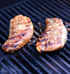 The alternative to grilling chicken on a hot summer evening - this Grilled Marinated Turkey Tenderloin recipe. Bonus, makes amazing lunch meat as leftovers. Grilled Turkey Cutlets Recipe, Turkey Tenderloin Recipes, Paleo Turkey Recipes, Diet Recipes, Chicken Recipes, Bbq Turkey
