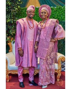 40 Gorgeous Wedding Dress Styles For Your African Traditional Wedding - The Glossychic Nigerian Wedding Dresses Traditional, Traditional Wedding Attire, Traditional Dresses, African Wedding Attire, African Attire, African Men, African Beauty, African Lace Dresses, African Fashion Dresses