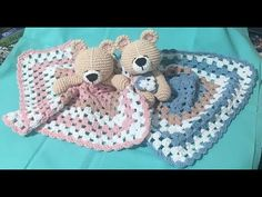 Crochet Lovey Free Pattern, Crochet Patterns Amigurumi, Crochet Baby, Primitive Doll Patterns, Baby Lovey, Crochet Doll Clothes, Newborn Gifts, Baby Accessories, Toys