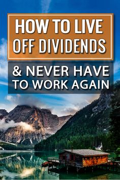 Wow - so it turns out that investing in dividend stocks is actually pretty profitable over the long run! Your money will double every 10 years and you'll keep getting paid in dividends - for doing nothing!!