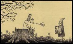 John Kenn Mortensen Em seu tempo livre , um homem de família exemplar, pai de dois filhos e um membro da televisão infantil atrai monstros Темная сторона режиссера детских ТВ-шоу Arte Horror, Horror Art, Don Kenn, Monster Drawing, Monster Art, Creepy Art, Creepy Drawings, Lowbrow Art, Pop Surrealism