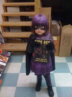 Hit Girl Costume! Ridiculously cute!