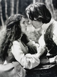 Christian Bale as Laurie and Winona Ryder as Jo in Little Women (1994). He makes me so sad in this scene
