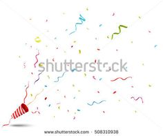 Exploding party popper