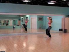 belly dance beginner choreography - YouTube