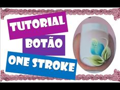 Tutorial botão de rosa em one stroke - YouTube