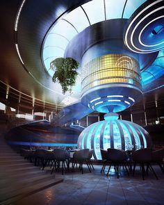 Underwater Hotel Restaurant