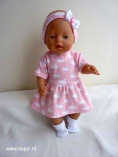 Zomerkleding / Baby Born 43 cm   Nappi.nl Eigen ontwerp