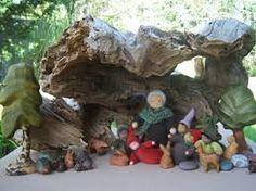 Afbeeldingsresultaat voor waldorf nature table