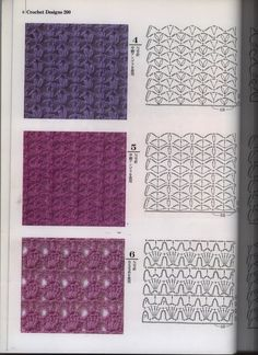Irish lace, crochet, crochet patterns, clothing and decorations for the house, crocheted. Crochet Stitches Chart, Knitting Stiches, Crochet Motifs, Crochet Mandala, Knitting Patterns, Crochet Patterns, Granny Square Häkelanleitung, Granny Square Crochet Pattern, Crochet Diagram