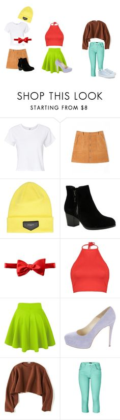 """""""spongebob and friends"""" by fashionriverdale on Polyvore featuring RE/DONE, Givenchy, Skechers, Michelsons, Boohoo, Brian Atwood, Uniqlo, Venus, men's fashion and menswear"""