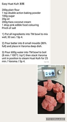 Huat Kuih Chinese New Year Food, Edible Food, Asian Recipes, Singapore, Cake Recipes, Sweet Treats, Food And Drink, Baking, Thermomix