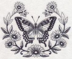 Com embroidery designs to buy tattoo designs, butterfly thig Stomach Tattoos, Leg Tattoos, Body Art Tattoos, Tattoo Drawings, Sleeve Tattoos, Ribbon Tattoos, Skull Tattoos, Flower Tattoos, Tatoos