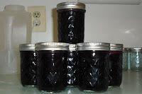 The EmT Plate: Black Raspberry Freezer Jam