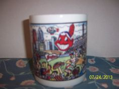 Official Cleveland Indians Baseball Coffee by NAESBARGINBASEMENT, $6.00