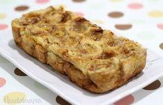 Bolo de Rolinhos de Bananas ~ PANELATERAPIA - Blog de Culinária, Gastronomia e Receitas