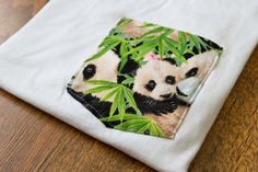 The Panda Pocket T-Shirt !* this seems like a cute gift for my sister-in-law, she like ah dash panduh! :)