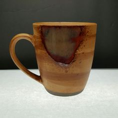 Sango Splash Coffee Mugs Cups 4951 Brown Stoneware USA Seller C1-1439-1 #Sango