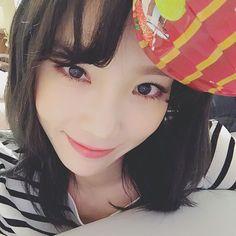 taeyeon_ss: 받았다사탕  #해피유희열 #단방망이
