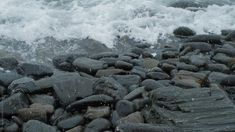 Snow falling on a rocky beach on the coast of Maine near Portland. Ocean Pictures, Nature Pictures, Green Background Video, Aesthetic Photography Nature, Winter Beach, Ocean Sounds, Beach Aesthetic, Forest Photography, Aesthetic Videos