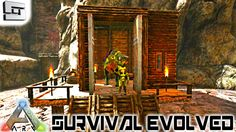 ARK: Survival Evolved - BUILDING BRIAN A HOUSE! E62 ( Gameplay )