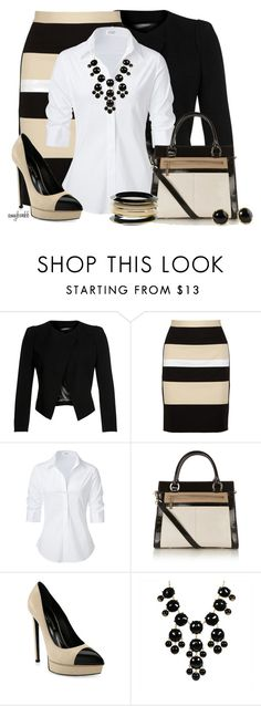 """Color Blocking"" by amybwebb ❤ liked on Polyvore featuring Plein Sud, DKNY, Steffen Schraut, Karen Millen, Yves Saint Laurent, Dorothy Perkins and Pim + Larkin"