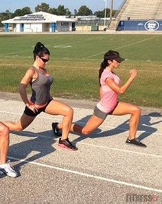 SPRING TRAINING- Track workout to look like a fitness model. Great for all fitness levels.
