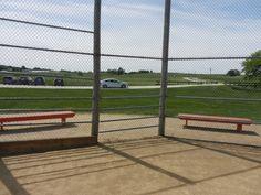 Part of the baseball field - Field of Dreams movie site - Dyersville, Iowa - June 2017