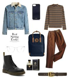 """Untitled #13"" by wsxlv on Polyvore featuring Fear of God, STELLA McCARTNEY, Romeo Gigli, Gucci, Vianel, Fjällräven, Dr. Martens, LOOL, PENHALIGON'S and H&M"