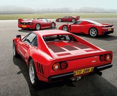 Ferrari 288 GTO, 30 años de Ferraris turbo