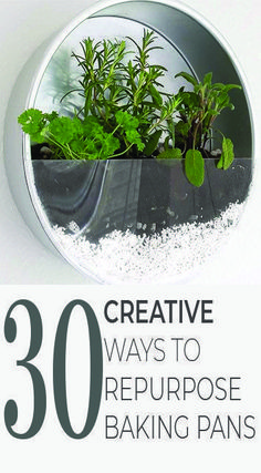 Don't toss those pans till you see these sweet ideas! 30 Ways to Reuse and Upcycle Old Pans! #homedecor #garden #gardendecor #gardenart #decor #reuse #repurpose #recycle #upcycle #recycling #upcycling #howto #makeover #diy #diys #craft #crafts #crafting #handmade