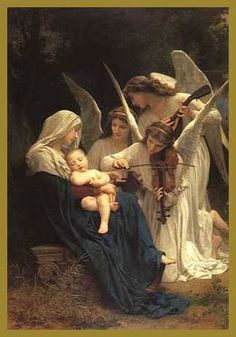 """""""Song of Angels"""" Bouguereau"""