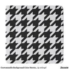 Customizable Background Color Herringbone Trivets