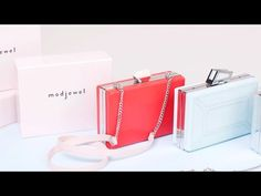 Modjewel Interchangeable Cherry Facets Clasp for Modular Bare Bag Clutch