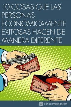 10 cosas que las personas económicamente exitosas hacen de manera diferente Business Planning, Business Tips, Make Money Online, How To Make Money, Savings And Investment, Financial Tips, Money Tips, Personal Finance, Book Quotes