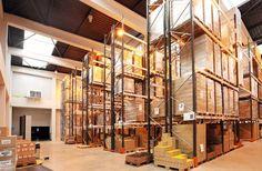 Bâtiment de stockage.  #produits moines