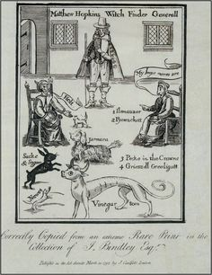 matthew hopkins the proverbial witch hunter How the infamous, self-styled witch-finder general – matthew hopkins took to his notorious business throughout east anglia in the 1640's.