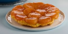 Anna Olson's Apple Tarte Tatin Recipes | Food Network Canada * This classic French apple tart is baked upside down, with the fruit at the bottom, and the puff pastry baked on top.